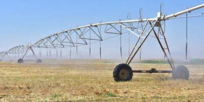 Center pivot sulama sistemi Ceylanpınar'da verimliliği artırdı