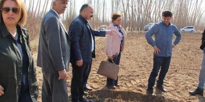 Çiftçiye patates tohumu ve makine ekipman desteği