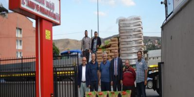 Karabük'te Çiftçilere 380 Ton Sertifikalı Tohum Dağıtıldı
