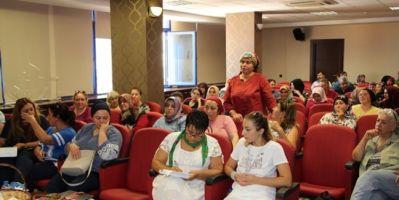 Konyaaltında Kadın Kooperatiflerinin Geliştirilmesi Konulu Toplantı Yapıldı